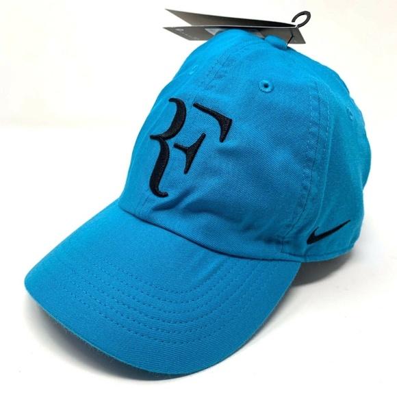 cf8848b969555 Nike RF Aerobill H86 Cap Roger Federer Blue Hat